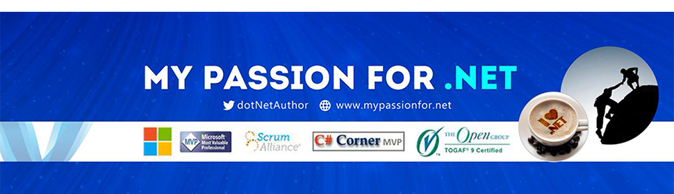 My Passion For .Net